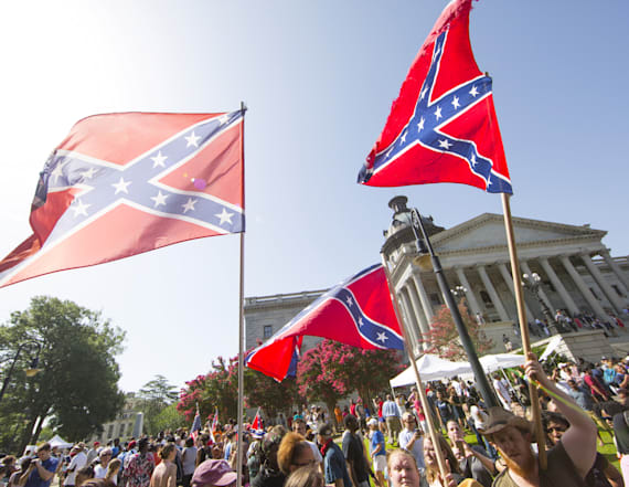 Fox News guest compares Confederate and pride flags