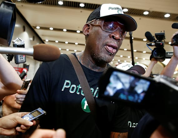Rodman arrested on suspicion of DUI in CA