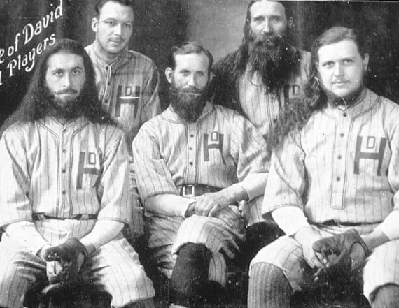 This bearded cult had a sensational baseball team