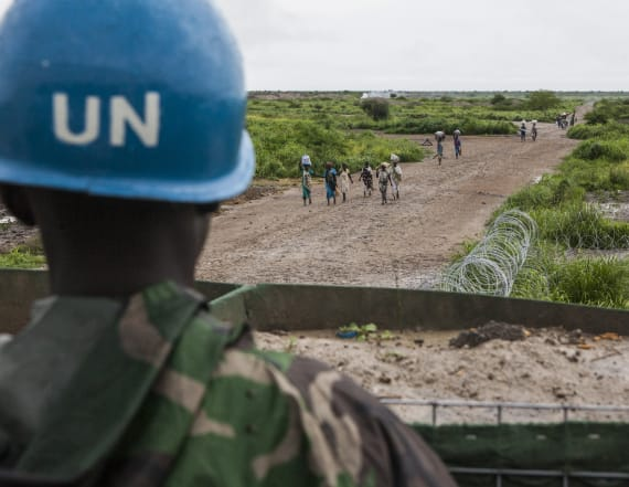 UN peacekeepers hit with shocking rape allegations