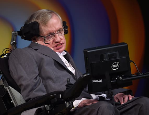 Hawking's thesis is available for anyone to read