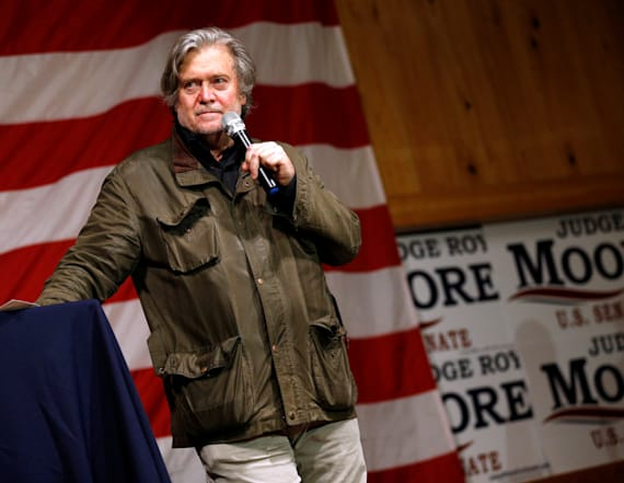 Lawmaker: Bannon looks like a 'disheveled drunk'