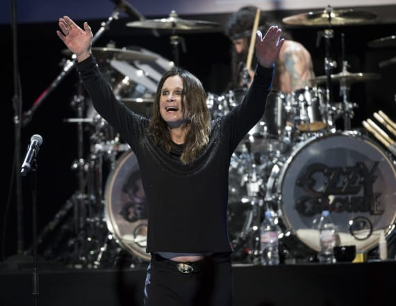 Ozzy threw water on deaf people