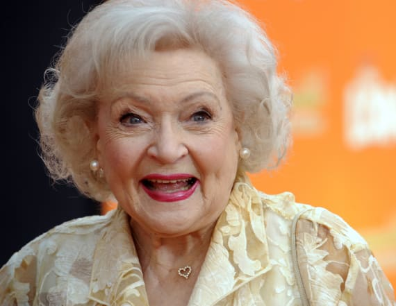 Betty White reveals secrets to her old age