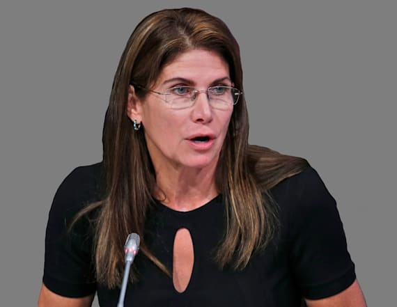 USA Gymnastics interim president Mary Bono resigns