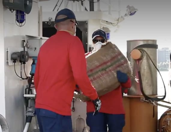 Coast Guard's $47M drug haul off Florida coast