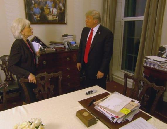 Trump has unusual poker-based portrait of himself