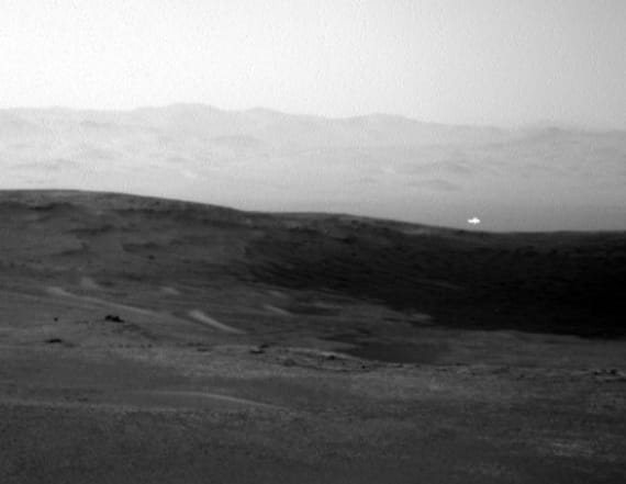 A glint of light and a hint of life spotted on Mars