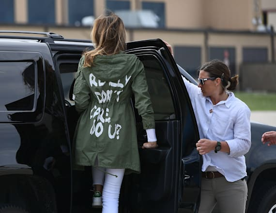 Melania reveals why controversial jacket was worn
