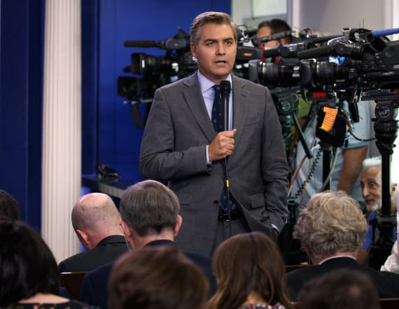 CNN's Jim Acosta Apologizes For Cursing on Twitter