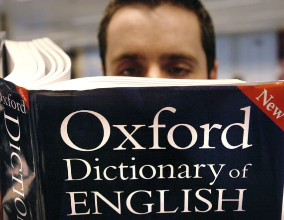 Oxford Dictionary Press reveals its word of the year