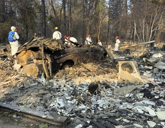 Official blames fires on 'radical environmentalists'
