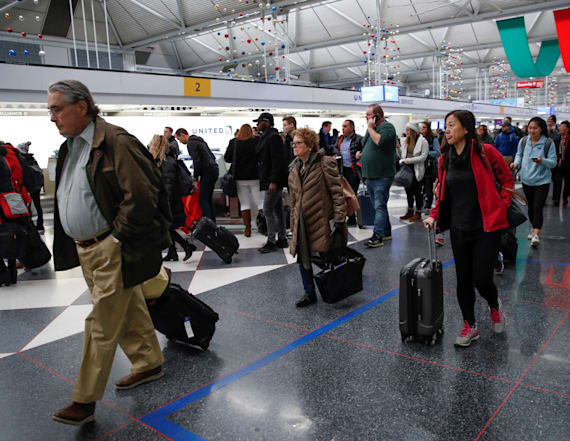 Nearly 500 flights canceled due to winter storm