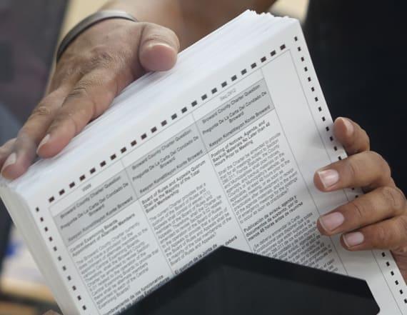 Florida US Senate race triggers hand recount