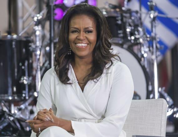Michelle Obama stuns in Dior for Elle magazine