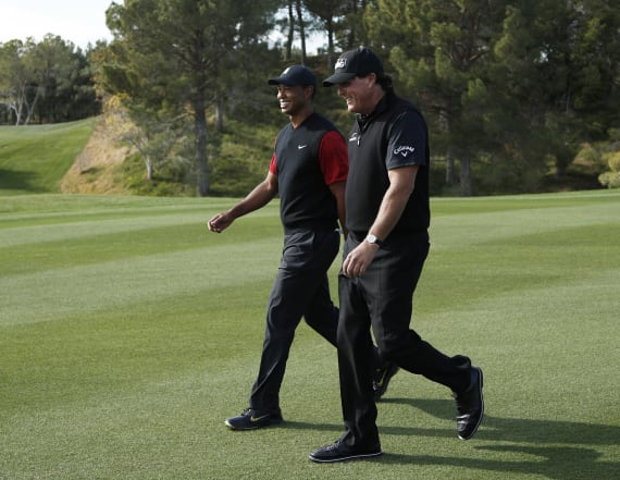 Phil Mickelson edges Tiger Woods, wins $9M