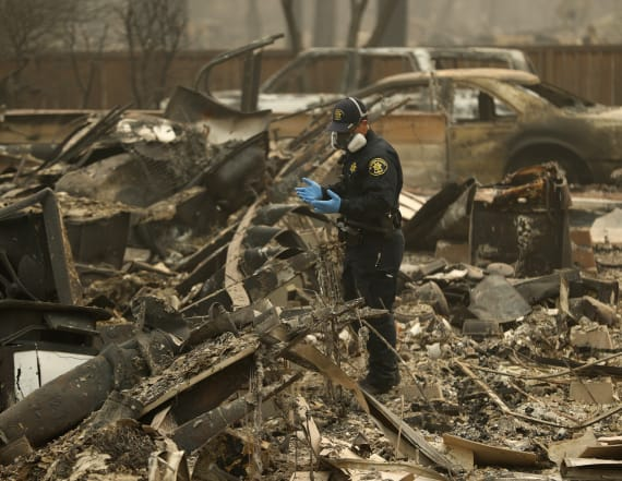 Remains of 71 people recovered in Calif. fire zone