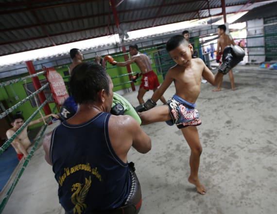 Child kickboxing debated in Thailand after teen dies