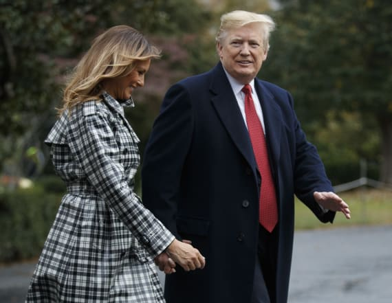 What Melania Trump wore her 94th week as first lady