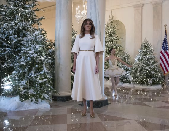 White House is about to be decked out for Christmas
