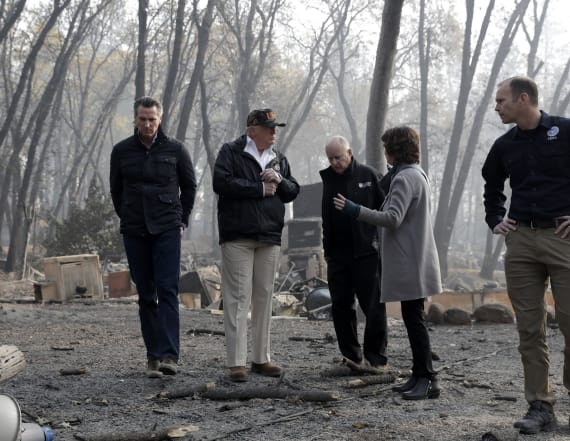 Trump calls Calif. wildfire a 'really bad one'