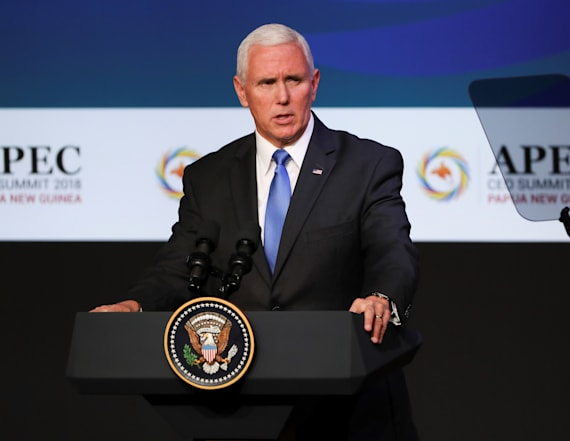 Pence delivers sharp warning to China on trade