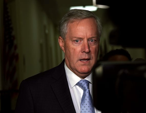 GOP Rep. Meadows out of running for chief of staff
