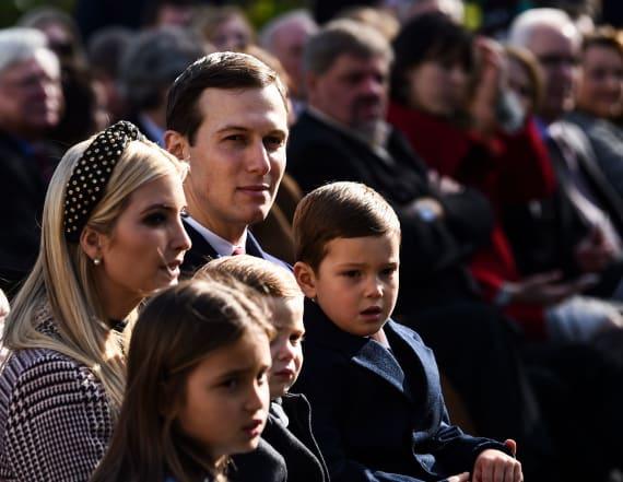 Ivanka Trump under fire for photo of her children