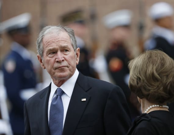 George W. Bush condemns ongoing presence of racism