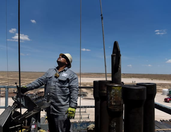Drilling to spew 1,000 coal plants' worth of CO2 gas