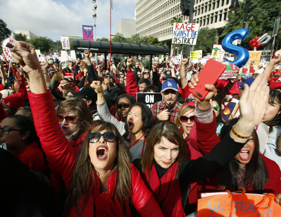 L.A. teachers strike ends, tentative deal reached