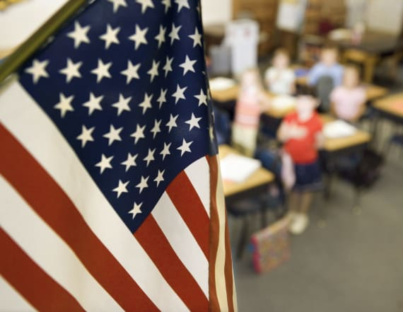 Boy arrested after refusing to stand for pledge