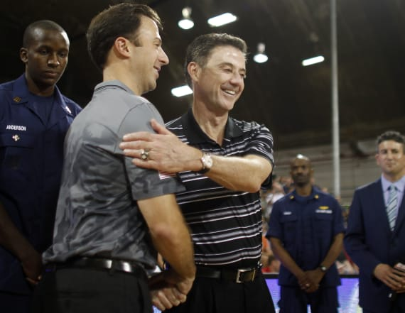 Louisville to meet Pitino's Minnesota in tournament