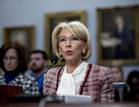 Report: DeVos used personal emails for work