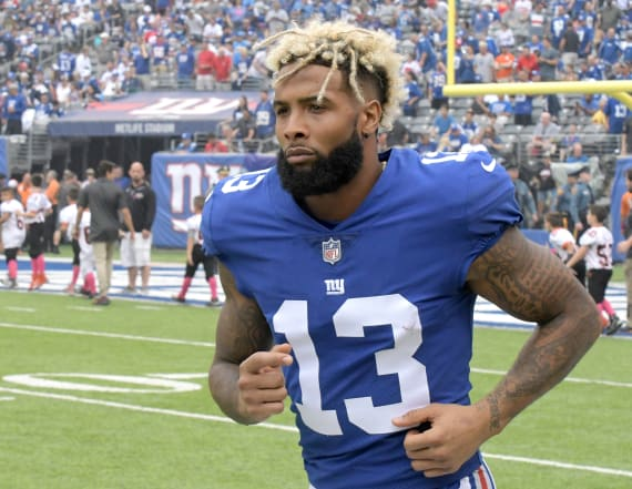 Giants co-owner on 'reluctant' OK of Beckham trade