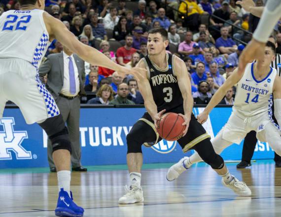 Kentucky stifles Fletcher Magee, holds off Wofford