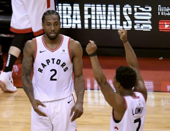 Raptors beat Bucks to head to first NBA Finals