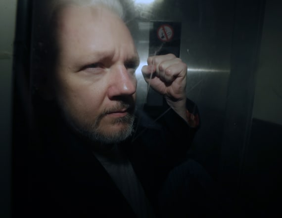 Assange charged with publishing classified info