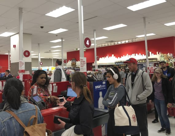 Target's tech meltdown causes long checkout lines