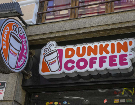 Dunkin' Donuts eyes massive new delivery rollout