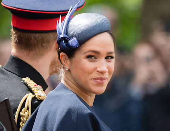 Meghan Markle shows off new bling