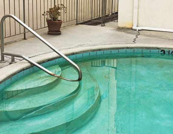 Swimming pool parasite is causing people to get sick