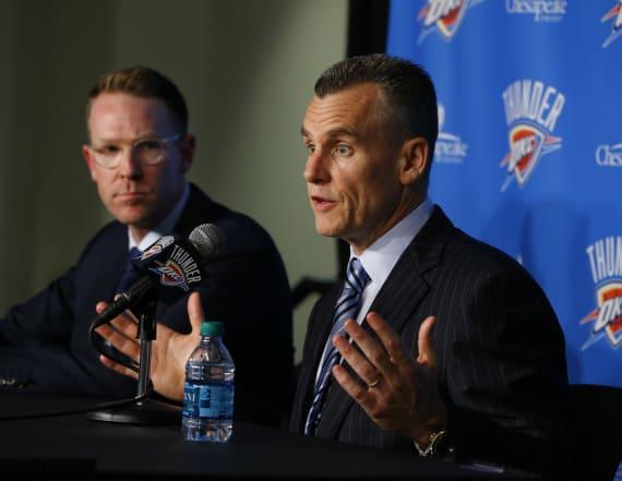 Thunder GM, coach received death threats