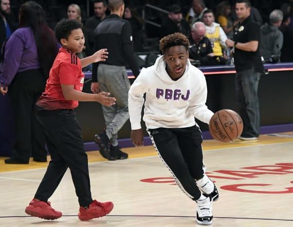 Pair of five-star recruits join Bronny James Jr.