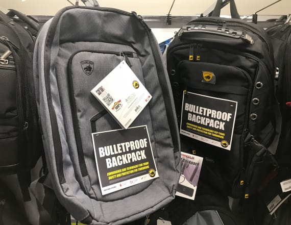 Sobering truth about bulletproof backpacks
