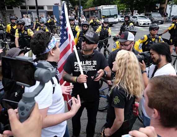 Far-right group claims 'mission success' in Portland
