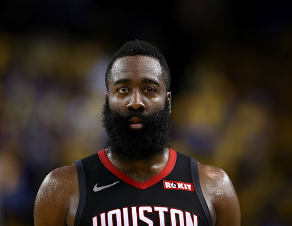 Harden knows who to blame for MVP loss to Giannis