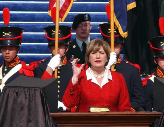 Kathleen Blanco, La.'s first female governor, dies