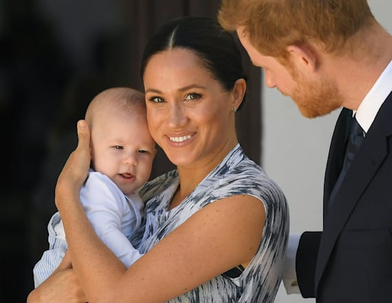 Meghan, Harry reportedly left baby Archie in Canada