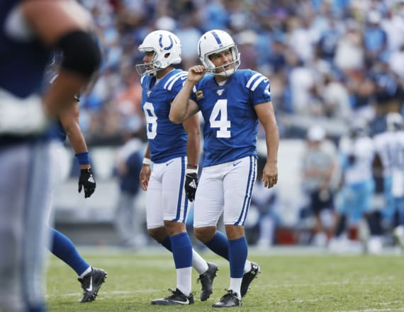 Adam Vinatieri: 'You'll hear from me tomorrow'